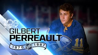 """Gilbert Perreault centered """"French Connection"""" line"""