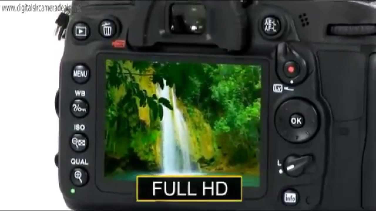 Best Professional DSLR 2015 - Nikon D7000 Digital SLR Camera - YouTube