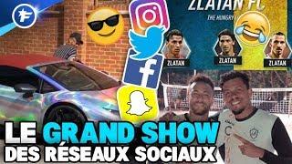 Le nouveau bolide d'Aubameyang, Neymar au foot-volley, le XI de rêve original d'Ibra | Le Grand Show