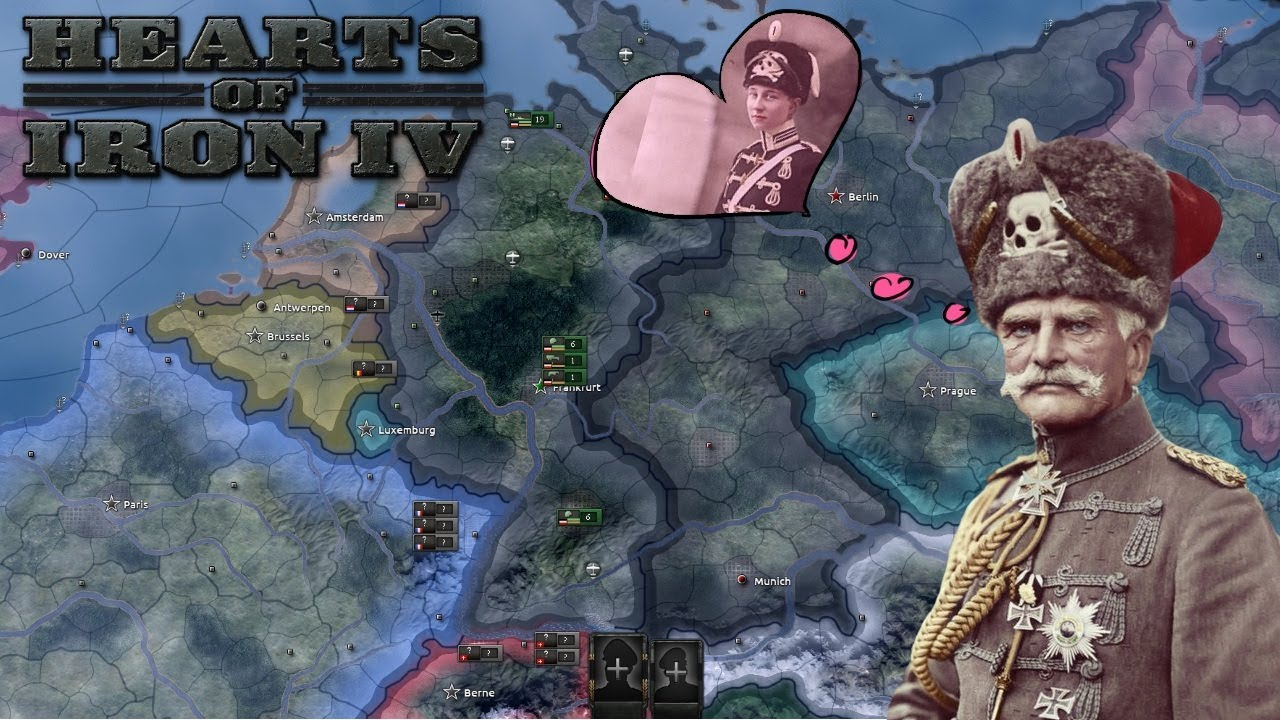 Hearts of Iron 4 How to win the German Civil War