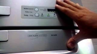 Geladeira Dc49x eletrolux não para de apitar