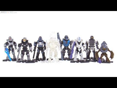 Mega Construx Halo Stormbound series figures reviewed
