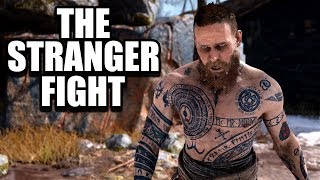 GOD OF WAR - The Stranger Fight / Stranger Boss Fight