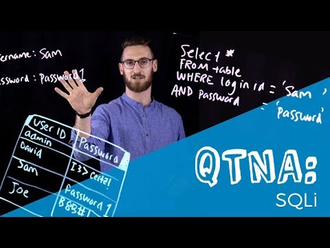 QTNA #16: SQLi