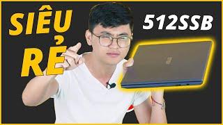 LAPTOP 512GB SSD MÀ GIÁ SIÊU RẺ??? - Trên tay Asus Vivobook 14 A412