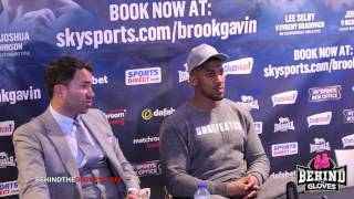 Hearn looking at Price, Whyte or Chisora for Anthony Joshua - post fight press conference