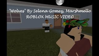"Selena Gomez, Marshmelllo ""Wolves"" - France Roblox Music Vidéo"
