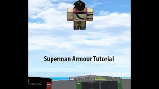 "How to: ""Build Your Own Mech"" Roblox, (BYM) Superman Armour"