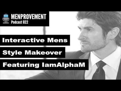 Interactive Men's Style Makeover Featuring IamAlphaM's Aaron Marino
