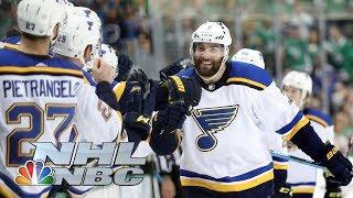 NHL Stanley Cup Playoffs 2019: Blues vs. Stars | Game 3 Highlights | NBC Sports