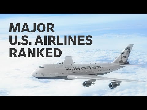 The Best and Worst U.S. Airlines: WSJ Annual Rankings