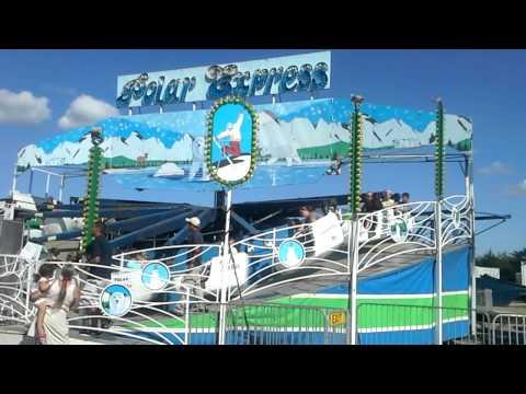Polar Express carnival ride