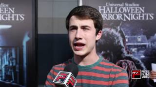 Dylan Minnette talks Dont Breathe and Halloween Horror Nights mazes