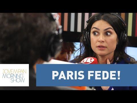 """Fede para c*r&lh$ mesmo!"", desabafa Thaila Ayala sobre Paris"
