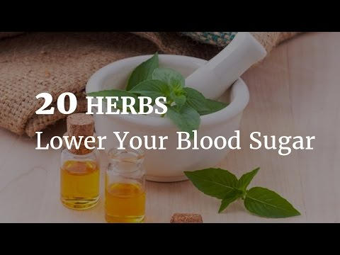 20 Herbs that Effectively Lower Blood Sugar