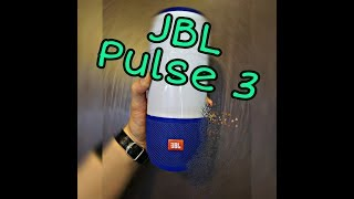 Портативная колонка JBL Pulse 3. Ночник с музыкой???