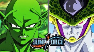 JUMP FORCE - CELL & PICCOLO NEW PLAYABLE CHARACTERS LEAK!
