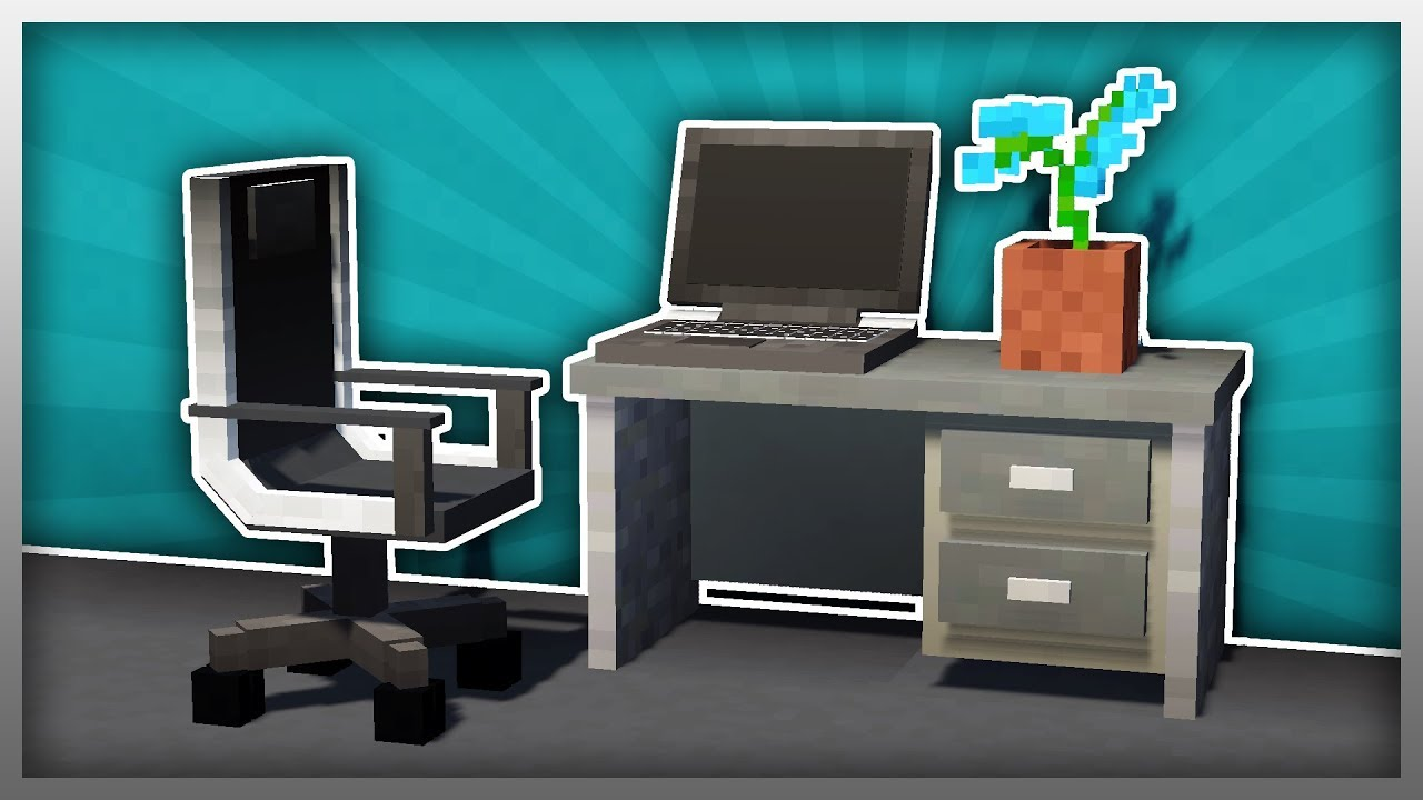 Mrcrayfish S Furniture Mod Computer Desk The Modern Update