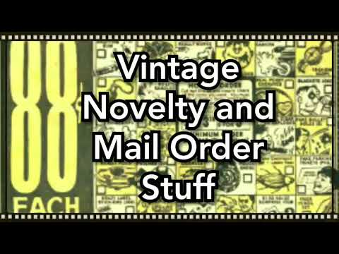 Vintage Novelty Mail Order Items : What Were They?