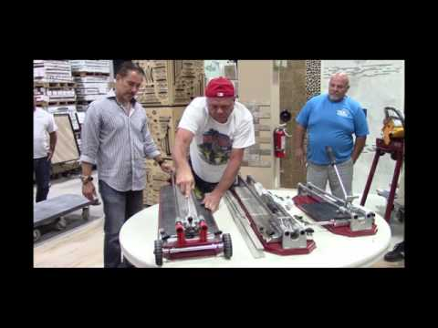 How to cut wood plank tile with Cortag Revolution Tools