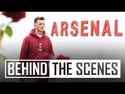 Ben White's first day at Arsenal | Behind the scenes on signing day