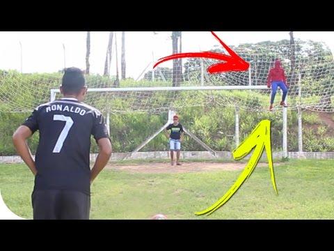 Homem Aranha Vs Cristiano Ronaldo