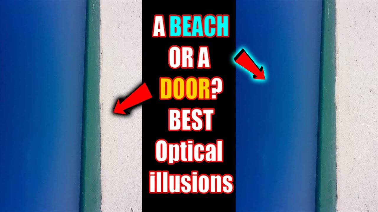 New illusion: the beach or the door 9