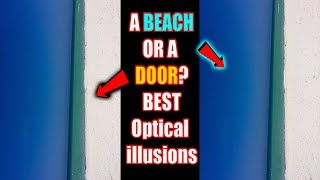 Is This A Beach Or A Door (Best Optical Illusion On Twitter) I have Proof It's A...