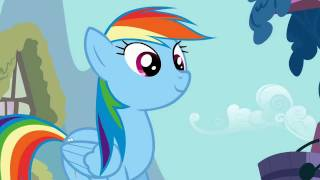 Rainbow Dash - Why wait for something to happen when you can make it happen?