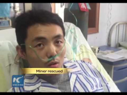 Trapped miners rescued in East China