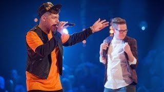 Tom Barnwell Vs Callum Crowley: Battle Performance - The Voice UK 2014 - BBC One
