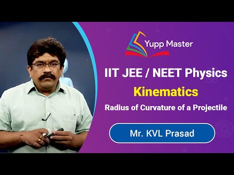 Radius of Curvature of a Projectile | Kinematics | IIT JEE / NEET Physics