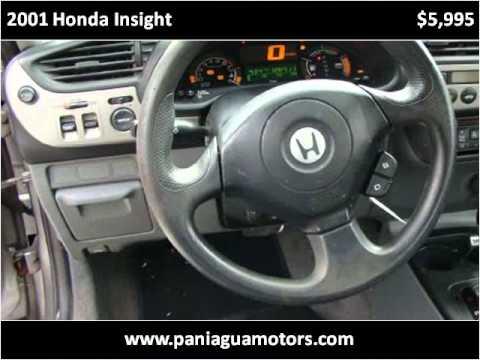 2001 Honda Insight Used Cars Dalton GA