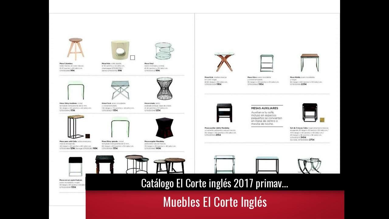 Cat logo el corte ingl s 2017 primavera verano muebles y for Catalogo muebles el corte ingles