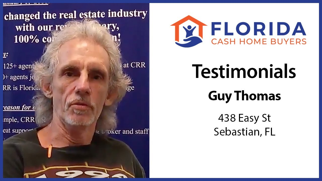 Florida Cash Home Buyers - Testimonial - Guy T.