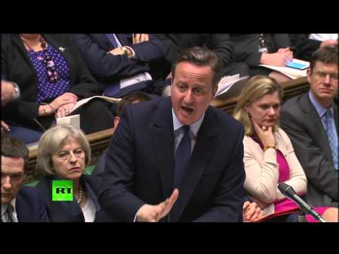 Cameron to Angus Robertson: 'Show us what you're made of'