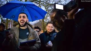 P1 - Losing Ungracefully!  Ali Dawah Vs Christian | Speakers Corner | Hyde Park