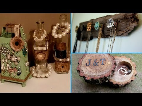 ✴DIY | Jewelry Organizer/ 40 creative Ideas for jewelry holder (Cute and Easy!!)✴