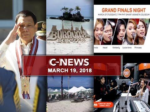 UNTV: C-News (March 19, 2018)