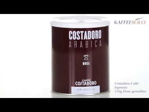 Costadoro Caffè Espresso 250g Dose gemahlen