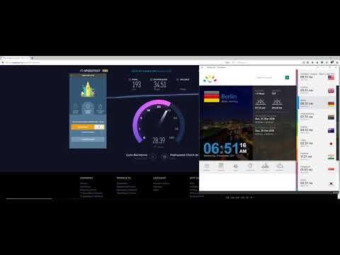 HMAI PRO VPN Speed Test - Berlin, Germany VPN Server 2017/11/8