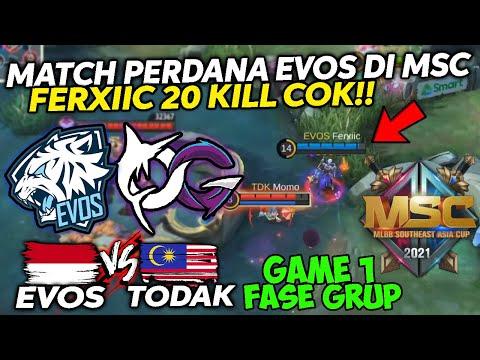 MSC EVOS VS