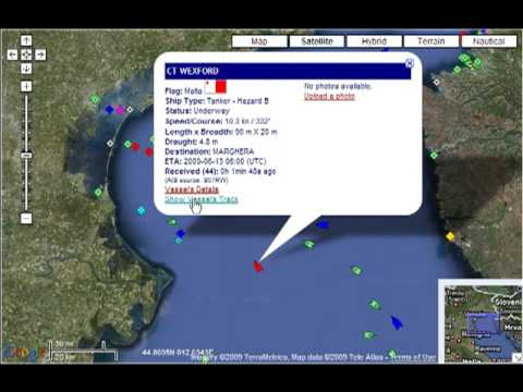 Ship Container Tracking