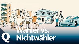 Warum Nichtwähler eher arm und Wähler eher reich sind   Quarks