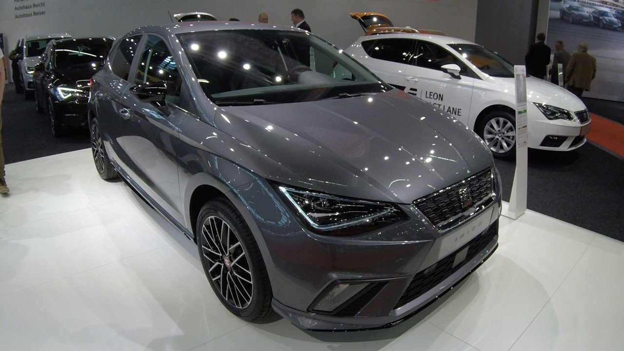 seat ibiza style new model 2017 rock grey colour walkaround and interior youtube. Black Bedroom Furniture Sets. Home Design Ideas