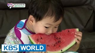 Triplets' House - Watermelon is the best fruit in summer (Ep.88   2015.08.02)