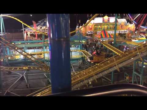 State Fair Meadowlands NJ 2017 - Riding the Sky Ride (Night)