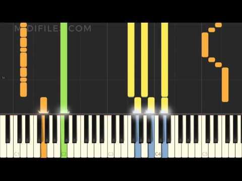 Thunder / Imagine Dragons (MIDI Karaoke instrumental version tutorial)