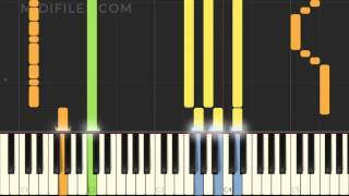 Thunder Imagine Dragons MIDI Karaoke Instrumental Version Tutorial