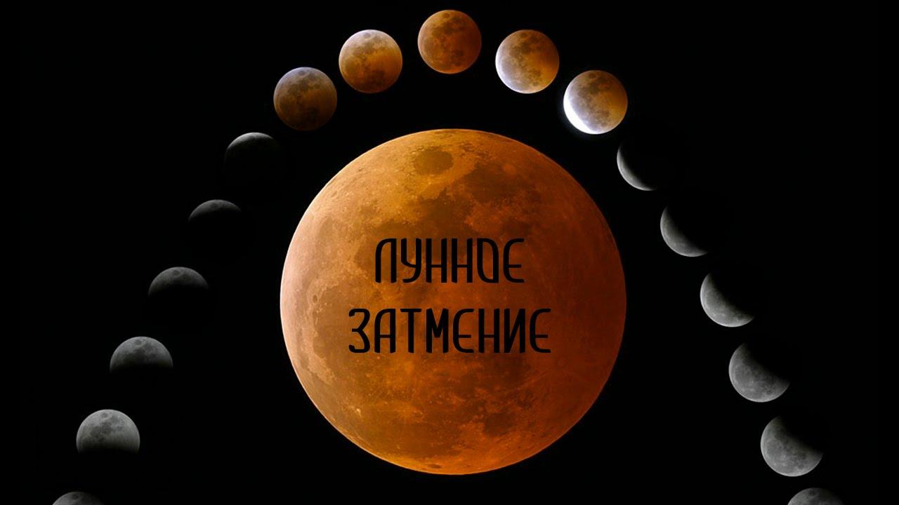 Астрономия для начинающих: лунные затмения - YouTube